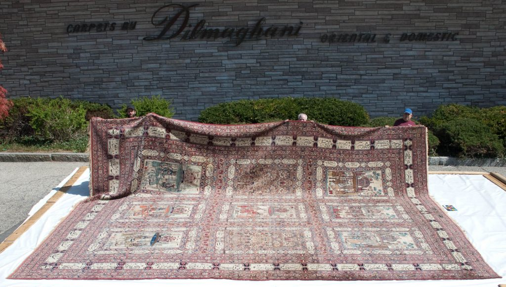 18×24 Antique Persian Kerman Rug