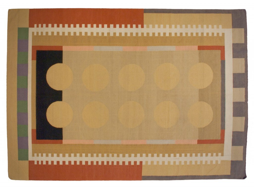 10×14 Modern Dhurrie Rug designed by David Nicholls