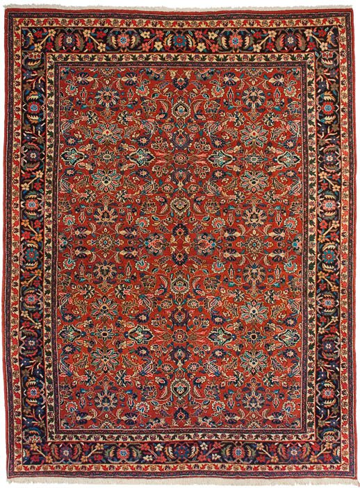 9×12 Persian Mahal Red Oriental Rug