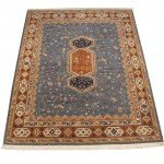 8x10 Armenian Carpet Blue Rust