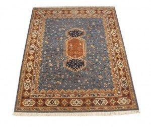 8x10 Armenian Carpet Blue Rust