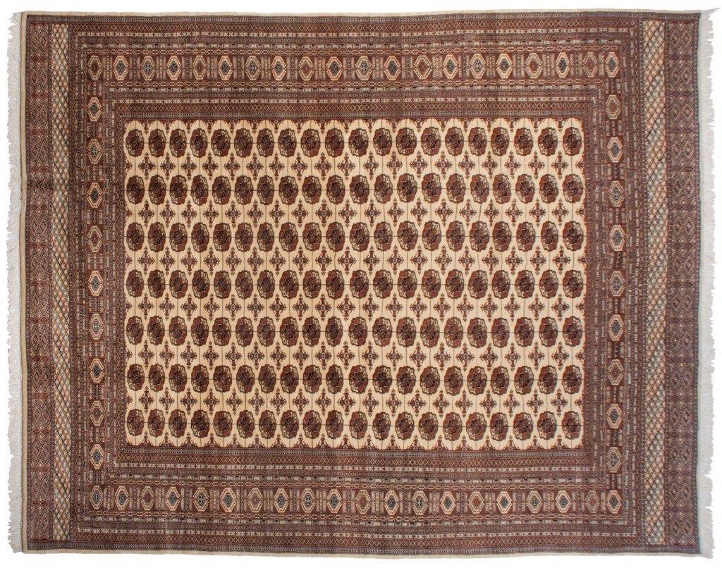 12×15 Fine Bokhara Ivory Rug