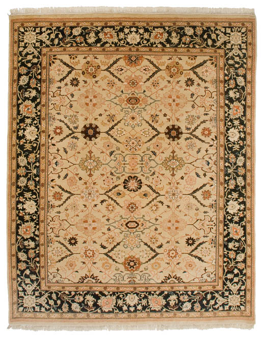 8×10 Agra Gold Oriental Rug