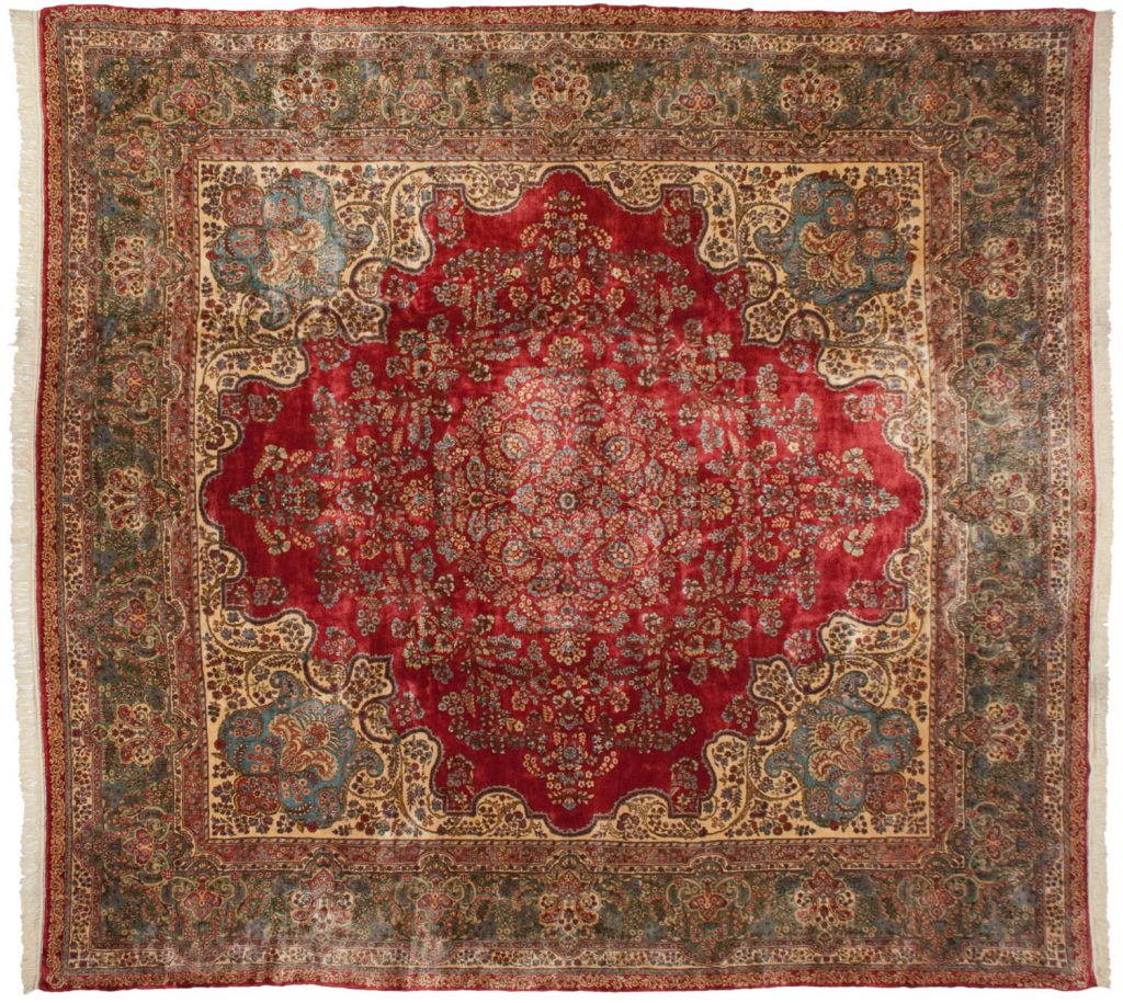 13×14 Persian Cyrus Crown® Kerman Square Rug