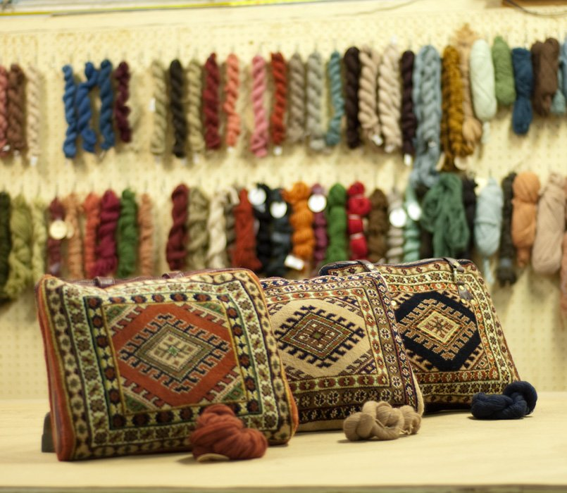Turkman Carpet Bags