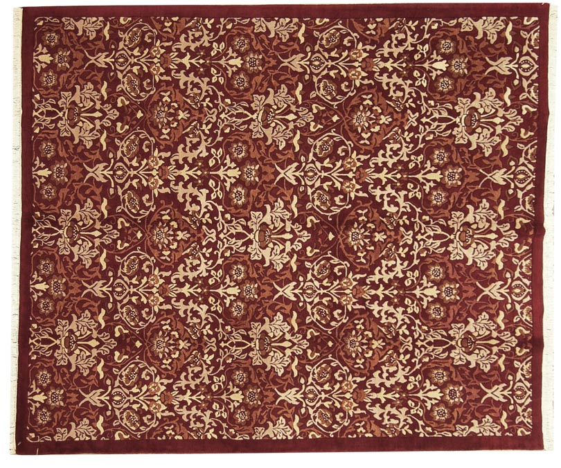 8×10 William Morris Design Rug