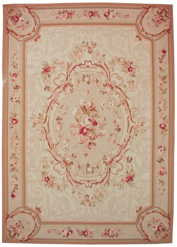 10x14 Aubusson Needlepoint Rug