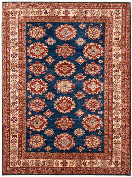 6×8 Kazak Blue Oriental Rug