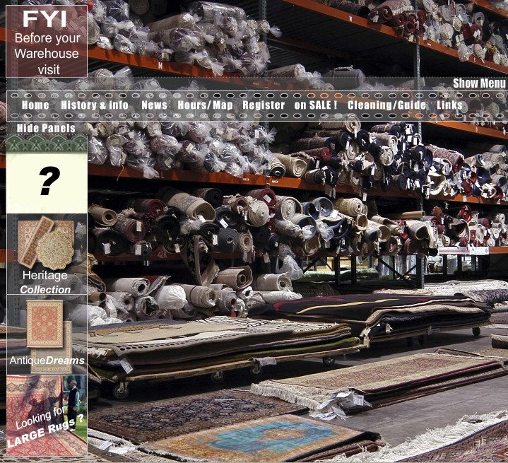 Oriental Rug Bargains at Flying Carpets Warehouse Outlet