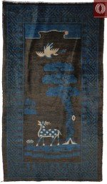 Antique Chinese Rug 021335