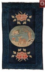 Antique Chinese Rug 021348