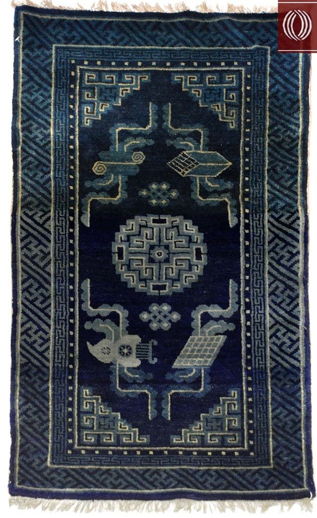 Early 1900's Antique Chinese Peking Design Rug