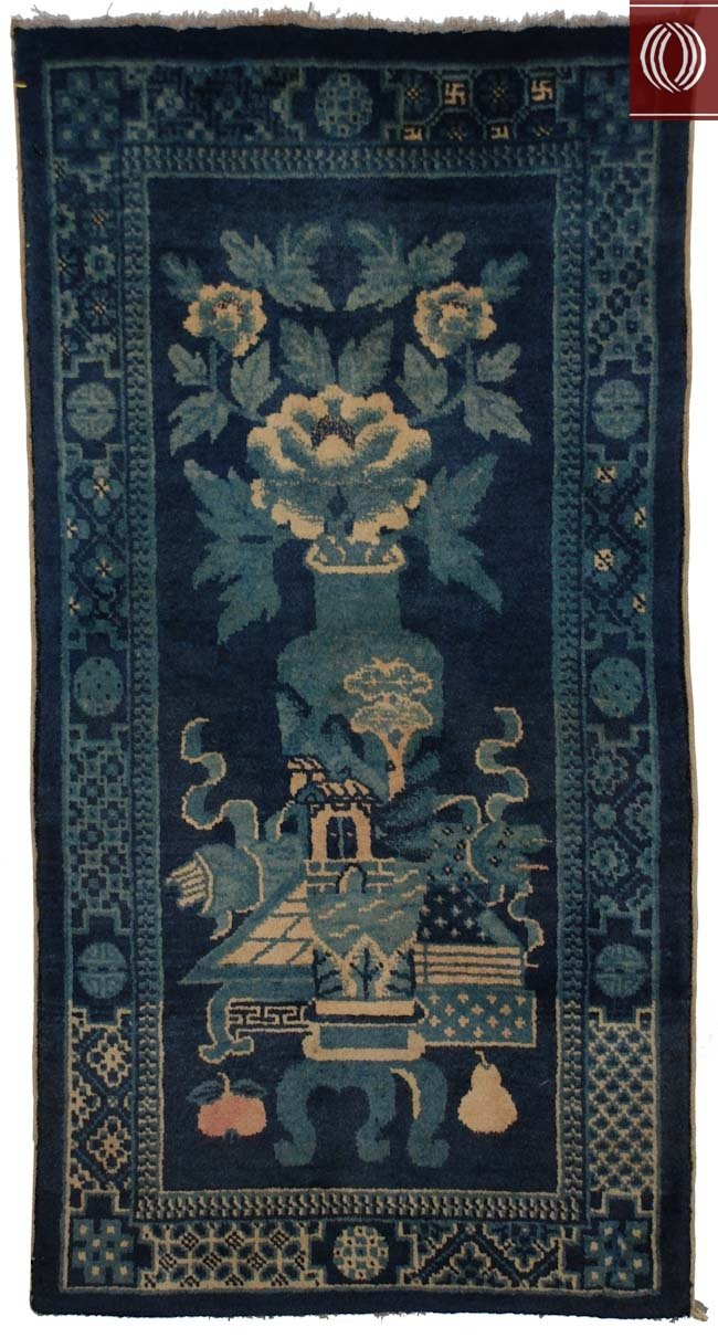 Antique Chinese Rug 021367