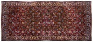 Large Persian Kerman Carpet