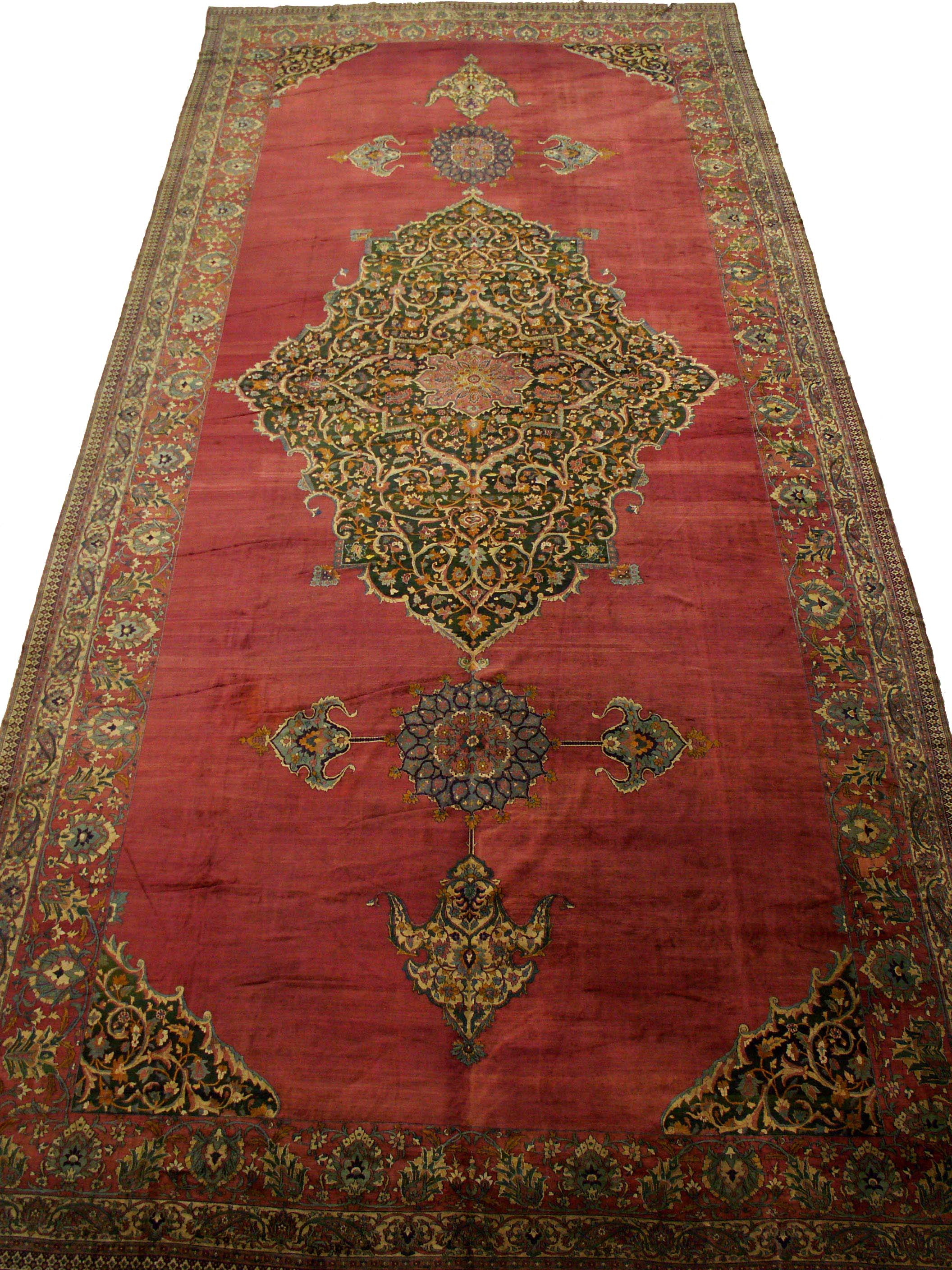 Large Antique Palace Rug 28407