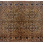 17' x 24' Large Oversized antique Persian Kerman