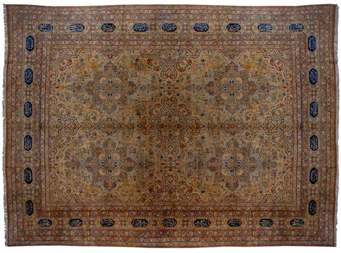 17' x 24' Large Oversized antique Persian Kerman