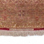 Antique Silk Tabriz Ardebil Carpets Design