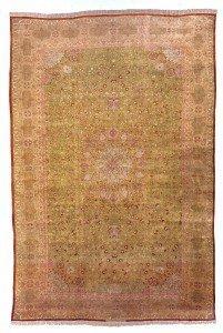 16' x 24' Large Oversized antique Persian Silk Tabriz