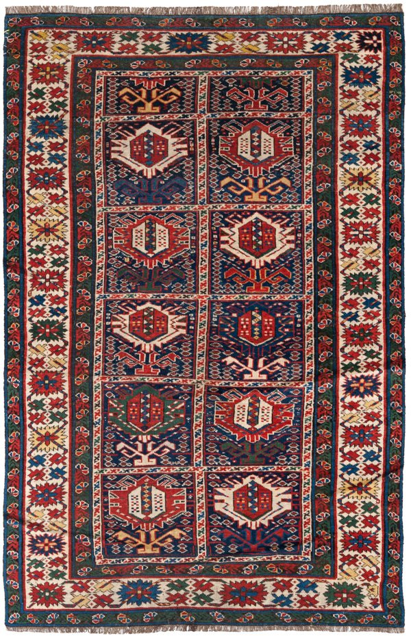 Caucasian Collectable Rug 4x6