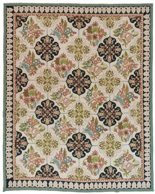 8×10 Vintage Chain Stitch Rug - Sale Price $399 - Original Price $1995