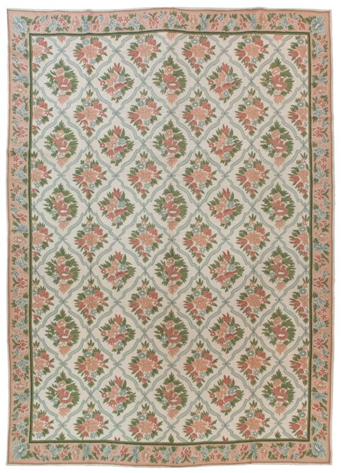 10×14 Vintage Chain Stitch Rug - Sale Price $799 - Original Price $3995