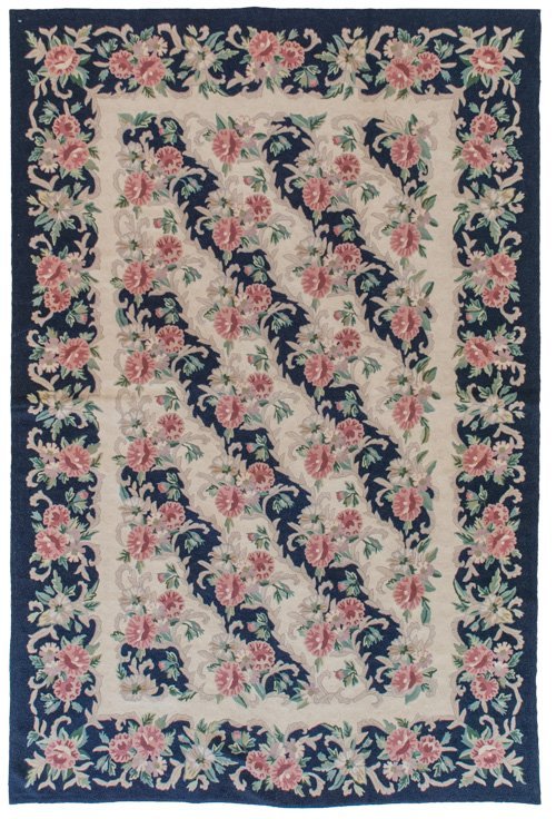 5x8 Vintage Chain Stitch Rug - Sale Price $269 - Original Price $1345