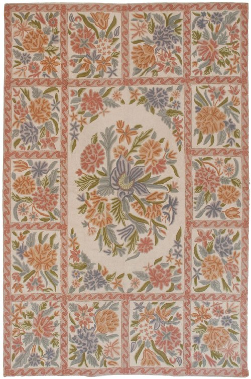 Needlepoint Chainstitch Dhurrie Rugs Clearance Dilmaghani