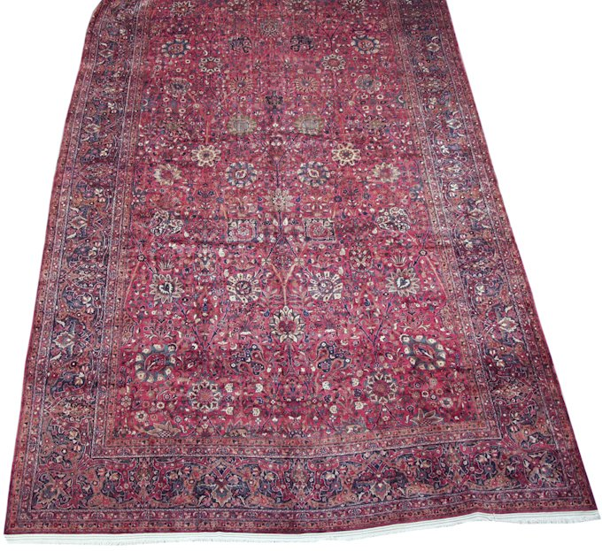 14' x 27' Large Oversized Persian Kerman