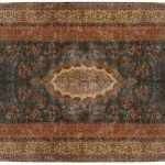 13' x 24' Persian Kerman Oversized Rug