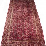 11' x 24' Large Persian Sarouk Oversized Carpet