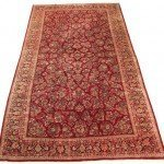 12' x 24' Large Persian Sarouk Carpet