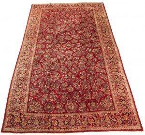 12' x 24' Large Persian Sarouk Carpet