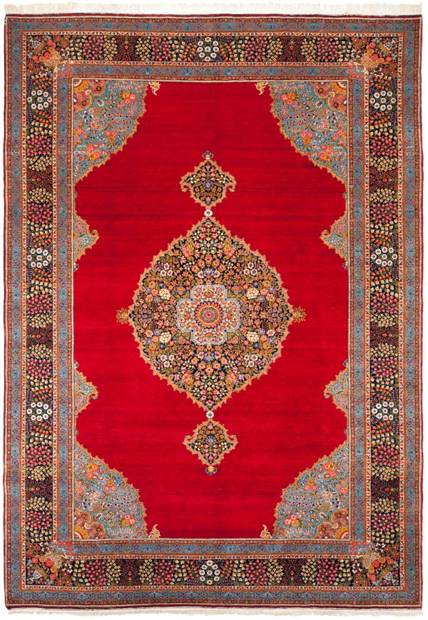 Persian Tabriz Collectable Rug 8×12
