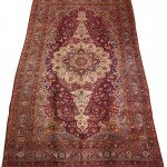12' x 23' Large Persian Yezd Rug Carpet