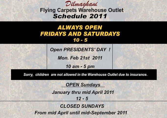 Presidents Day Weekend Rug Sale Flying Carpets