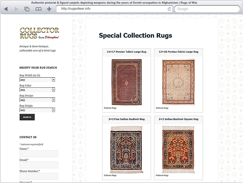 Rugs for Collectors
