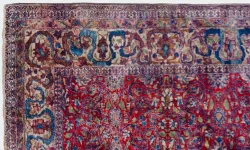 Silk Persian Tabriz