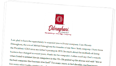 Subscribe to Dilmaghani's Newsletters